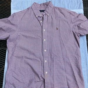 Ralph Lauren Short Sleeve Button Down Polo
